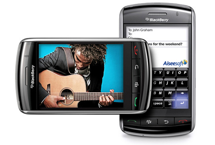 BlackBerry 9500 Reviews - Full touch screen and OS 4.7