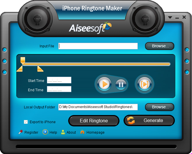 Aiseesoft iPhone Ringtone Maker